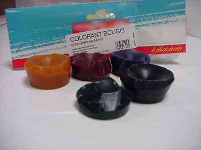 la fabrication dune bougie - Colorant Bougie